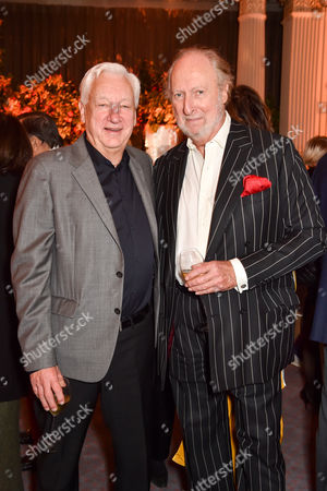 Michael Craig-Martin and Ed Victor