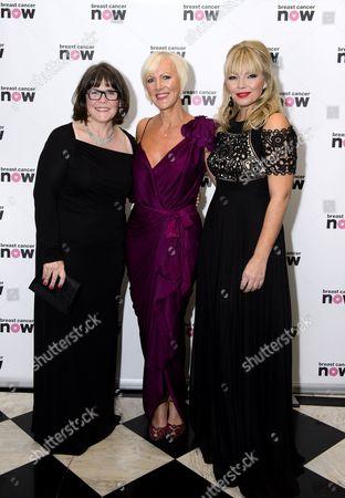 Stock Photo of Baroness Delyth Morgan, Kate Thornton and Fiona Lambert
