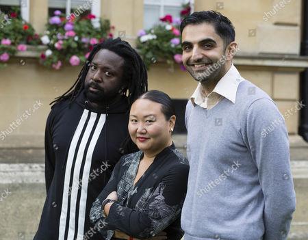 Marlon James, Hanya Yanagihara and Sunjeev Sahota, Man Booker Prize short list authors