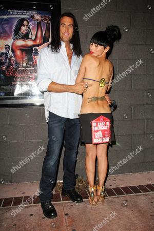 Stock Photo of Mathew Karedas and Bai Ling