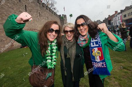 Mary Murphy, Tara Moylan and Beth O'Sullivan from cork