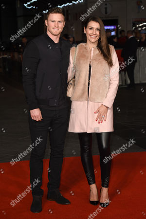 Stock Image of Chris Ashton and Melissa Ashton