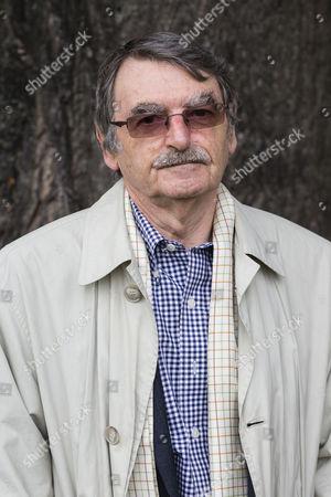 Literary critic and novelist David Lodge.