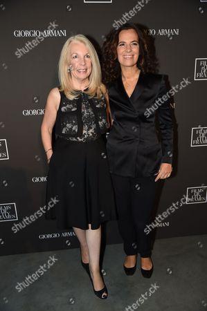 Amanda Neville and Roberta Armani