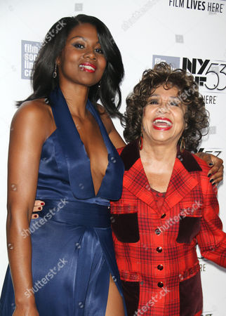 Emayatzy Corinealdi and Frances Davis