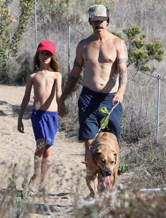 Editorial picture of Anthony Kiedis out and about in Los Angeles, America - 10 Oct 2015