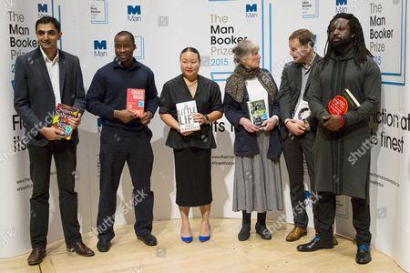 Sunjeev Sahota, Chigozie Obioma, Hanya Yanagihara, Anne Tyler, Tom McCarthy, Marlon James