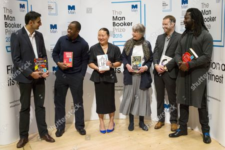 Editorial picture of The Man Booker Prize readings, Royal Festival Hall, London, Britain - 12 Oct 2015