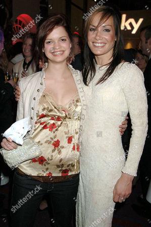 Pixie Geldof and Tara Palmer-Tomkinson