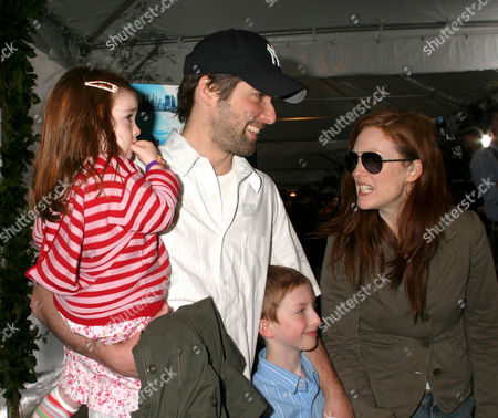 Liv Helen, Bart Freundlich, Cal and Julianne Moore