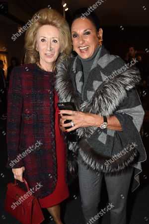 Lady Estelle Wolfson and Dame Gail Ronson