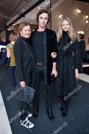 Eva Cavalli, Daniele Cavalli and Magdalena Frackowiak