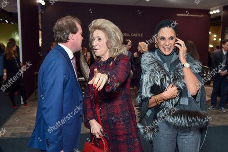 Lord Harry Dalmeny, Lady Estelle Wolfson and Gail Ronson