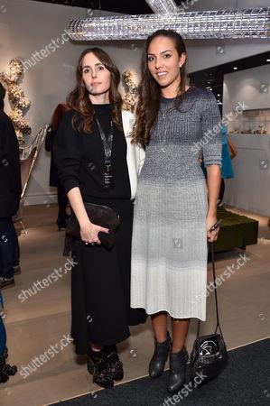 Tania Fares and Princess Alia Al-Senussi