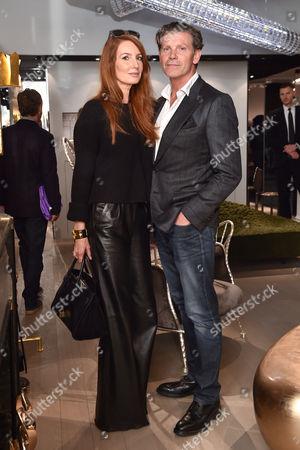 Angela Dunn and husband