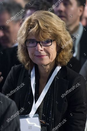Economist Vicky Pryce at the launch event.