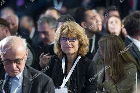 Stock Photo of Economist Vicky Pryce at the launch event.