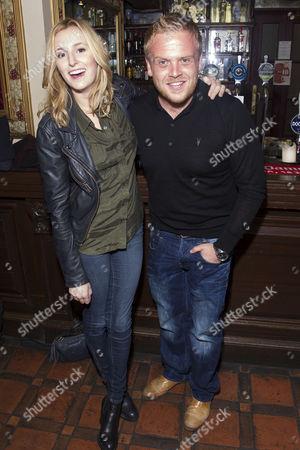Laura Carmichael and Owain Arthur