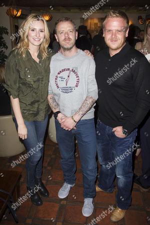 Laura Carmichael, Paul Andrew Williams (Author/Director) and Owain Arthur