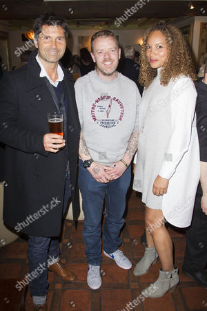 Jason Milligan, Paul Andrew Williams (Author/Director) and Angela Griffin