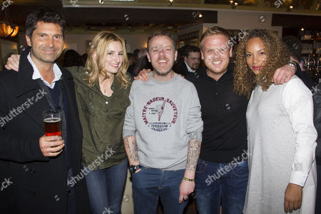 Jason Milligan, Laura Carmichael, Paul Andrew Williams (Author/Director) and Owain Arthur and Angela Griffin