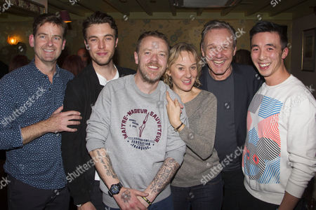 David Michaels (Lawyer), Tom Hughes (Simon Baron), Paul Andrew Williams (Author/Director), Niamh Cusack (Mrs Baron), Anthony Head (Mr Baron) and Jackie Lam (Guard)