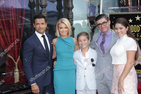 Editorial image of Kelly Ripa honoured with a Star on the Hollywood Walk of Fame, Los Angeles, America - 12 Oct 2015