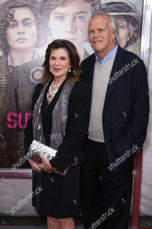 Stock Image of Susan Saint James and Dick Ebersol