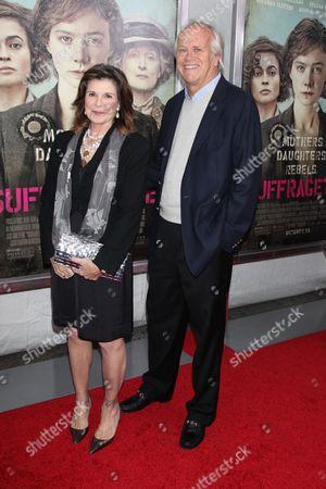 Susan Saint James and Dick Ebersol