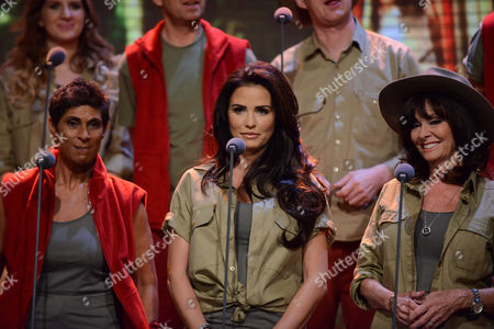 The I'm A Celebrity choir - Fatima Whitbread, Katie Price and Vicki Michelle