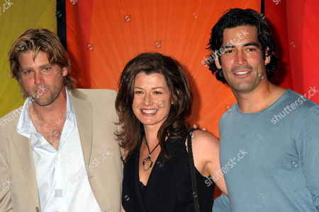 Stock Photo of Eric Stromer, Amy Grant, Carter Oosterhouse