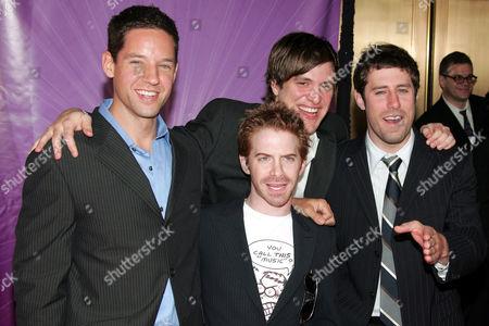 'Four Kings' cast - Seth Green [c], Josh Cooke [r]