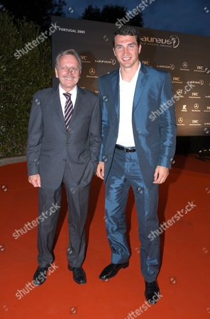 「THE LAUREUS WORLD SPORTS AWARDS VOGUE PARTY, FAROL DESIGN HOTEL, CASAIS, PORTUGAL -  15 MAY 2005」的報導類影像