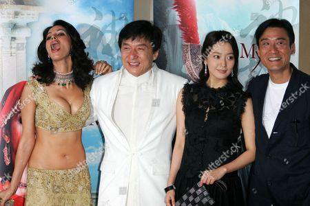 Mallika Sherawat, Jackie Chan, Kim Hee Seon, Tony Leung Ka Fai.