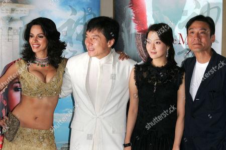 Mallika Sherawat, Jackie Chan, Kim Hee-Seon, Tony Leung Ka Fai.
