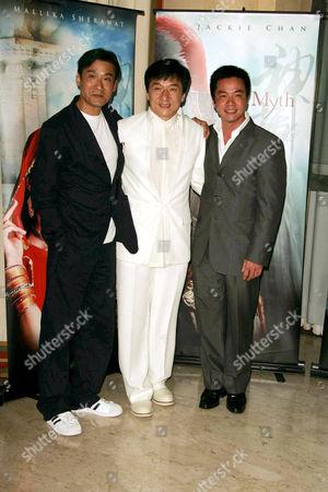 Stanley Tong, Jackie Chan and Tony Leung Ka Fai