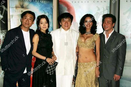 Stanley Tong, Kim Hee Seon, Jackie Chan, Mallika Sherawat and Tony Leung Ka Fai