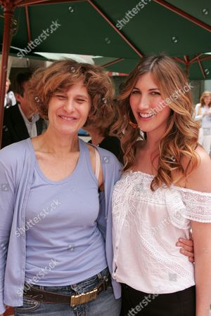 Sony's Amy Pascal and Jackie Titone