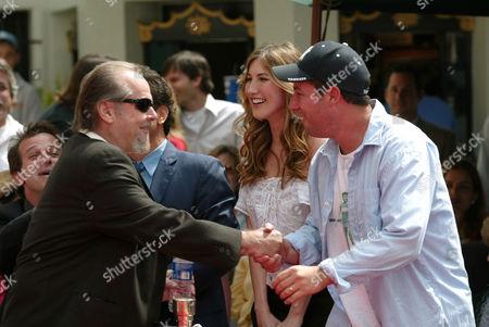 Jack Nicholson Jackie Titone Adam Sandler Editorial Stock Photo Stock Image Shutterstock