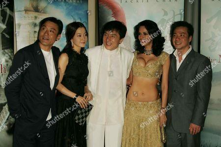 Stanley Tong, Kim Hee-Seon, Jackie Chan, Mallika Sherawat and To