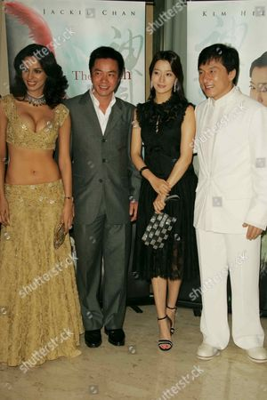 Mallika Sherawat, Tony Leung Ka Fai, Kim Hee-Seon and Jackie Cha