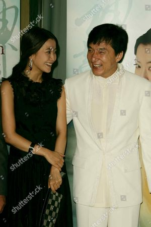 Kim Hee-Seon and Jackie Chan