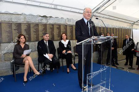 Aliza Bin Noun, Pierre Francois Veil, Isabelle Debre, Baron Eric de Rothschild