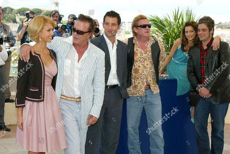 Jessica Alba, Mickey Rourke, Clive Owen, Michael Madsen, Brittany Murphy, Benico Del Toro