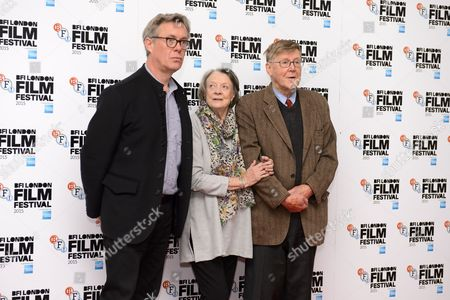 Kevin Loader, Maggie Smith and Alan Bennett