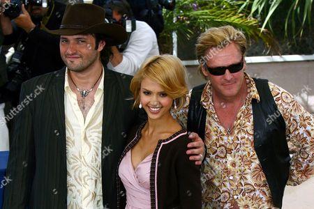 Roberto Rodriguez, Jessica Alba and Michael Madsen