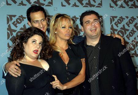 Marissa Jaret Winokur, Elon Gold, Pamela Anderson, Brian Scolaro