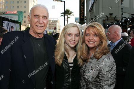 Al Ruddy, Wanda McDaniel and daughter