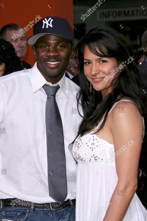 Stock Image of Derek Luke and wife Sophia Adella Hernandez