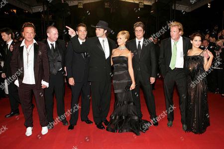 Mickey Rourke, Frank Miller, Clive Owen, Robert Rodriguez, Jessica Alba, Benicio de Toro, Michael Madsen and Brittany Murphy